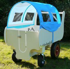 Bolderwagen voor kinderopvang