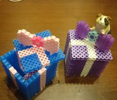 Boxes perler beads by junsato0628