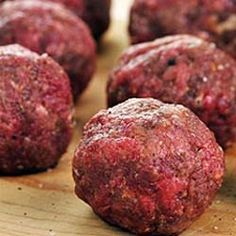 How to make Cuban Meatballs - Albondigas - Simple, Easy-to-Make Cuban, Spanish, and Latin American Recipes with Photos