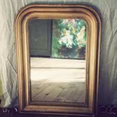 Miroir ancien Decoration, Parfait, Interior Styling, Sweet Home, Dressing, Restaurant, Mirror, Inspiration, Home Decor
