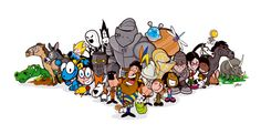 illustrated characters - Google Search