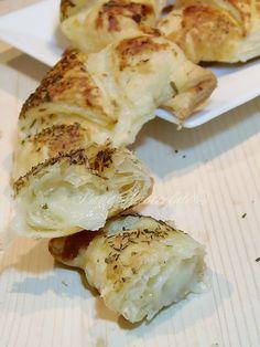 Cornetti Salati Patate e Mozzarella in 5 minuti