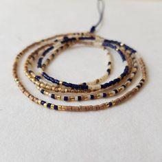 Beaded Wrap Bracelets, Beaded Jewelry, Beaded Necklace, Women's Jewelry, Jewelry Gifts, Jewelery, The Knot, Minimalist Necklace, Minimalist Jewelry