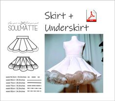 Woman - teenager evening skirt pattern. + tulle underskirt. High waist short evening skirt pattern. Suitable for dancers, show costume. Gorgeous skirt. Length of the skirt: 12,6 inches or 32 centimeters. Pattern in sizes XS, S, M, L ( EU 34, 36, 38, 40, 42). The Pattern is in PDF format. You will need to glue some details together. This PDF doesn't include a tutorial on how to sew it. For a regular A4 format printer. Skirt Patterns Sewing, Costume Patterns, Pattern Sewing, Pdf Patterns, Handmade Skirts, Handmade Clothes, Disco Costume, Evening Skirts, Swimsuit Pattern