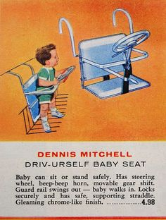 This type of infant car seat was pretty much all that was available even in the early 70's!
