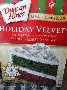 Turnips 2 Tangerines: Red and Green Velvet Cake Mix