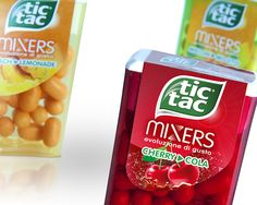 Tic Tac Mixers on Packaging of the World - Creative Package Design Gallery
