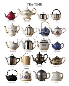 Tea Time is Anytime!