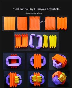 Origami Modular Ball