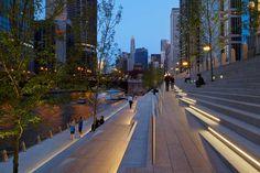 Chicago Riverwalk Expansion by SASAKI « Landscape Architecture Works | Landezine