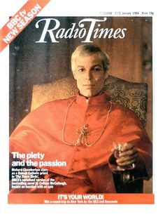 Radio Times Cover 1984-01-07 The Thorn Birds