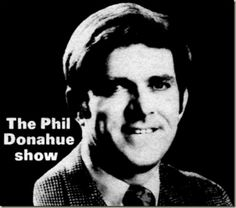 Phil Donahue show. I had been in his show in August 1976 at CBS Studio in Hollywood.