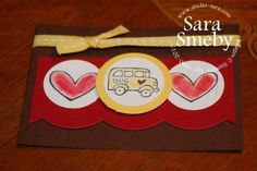 School Bus ATC by smebys - Cards and Paper Crafts at Splitcoaststampers