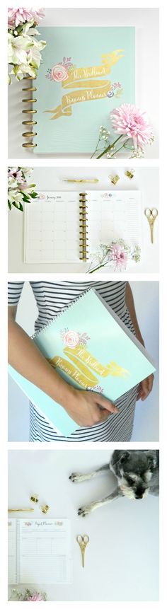 Not just another pretty planner. Craft a Brilliant Business. Lead a Lovely Life. Obsessed with this planner for 2016! It's a blog planner, business planner, product marketing tool... It has time blocking, goal setting, habit-tracking, weekly planning, daily planning. And, it's the prettiest planner I've seen.