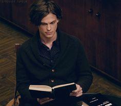 MATTHEW GRAY GUBLER   He loves reading books.