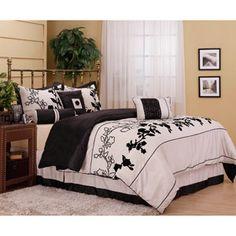 Nanshing Rene Reversible 7-Piece Bedding Comforter Set 79.99