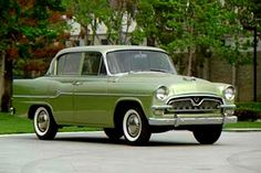 1957 Toyopet Crown 1st Generation with 1.4L or 1.8L  4-cylinder OHV engines