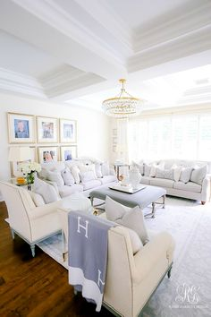 family room decorating ideas - transitional family room