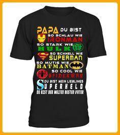 PAPA Superheld du bist der Welten besten - Weihnachten shirts (*Partner-Link)