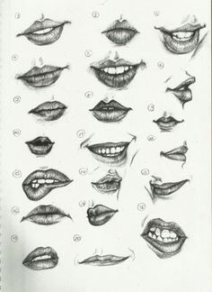 Ctrl+Paint- Draw 20: Lips by 1QueTeam1SoulFly on deviantART