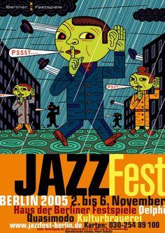 Henning Wagenbreth, Jazzfest Berlin, 2005
