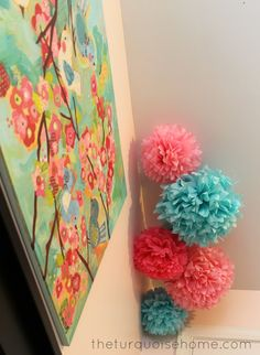 Pink & Turquoise Nursery {Miss A's Room Reveal}