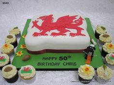 Welsh Dragon Cake  http://www.cakescrazy.co.uk/details/welsh-dragon-cake-9040.html