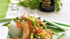 Asiatisk kyllingegryde