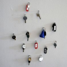 Eva Pel, Untitled (Collection of Keys of Dutch Museum Lockers).