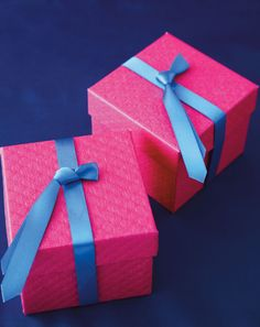 Tie-d Up Gift Boxes. #FathersDay idea from #SweetDesigns