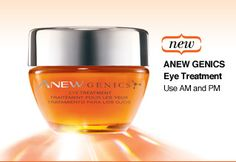 Anew Genics Eye Treatment and Anew Genics Night Treatment Cream. Get them both for $56!