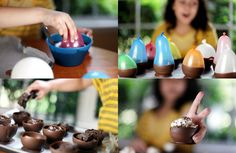 edible homemade ice cream bowls, best idea ever