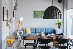 Yoyo, Wellington, New Zealand - Neat Places Places, Table, Ground Floor, Flooring, Furniture, Seater, Home Decor, Homeware, Living Spaces