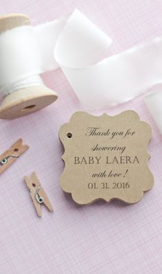 Beautiful baby shower tags headed to Illinois today!! ♡ #babyshowerfavors #gifttags #babyshower #favors #tags #babyshowerfavortags #somethingwithlove www.somethingwithlove.etsy.com