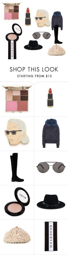 """Modalist - Celebrating a World of Style and Fashion"" by digitalshopping on Polyvore featuring Stila, Georgia Perry, Kenzo, Stuart Weitzman, Seafolly, Maison Michel, Santi and Chance"