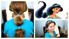 Jasmine Hairstyle Tutorial - A CuteGirlsHairstyles Disney Exclusive