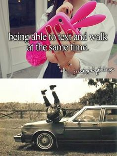 just girly things parodies. The bottom part depicts me in the future. Not kidding