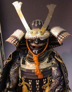 japanese samurai armor -- John's helmet