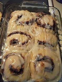 Sour Dough Cinnamon Rolls from Sour Dough starter- on same blog-YUM