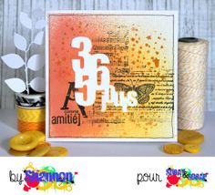 Carte d'amitié by shannon91 pour Spray & Scrap