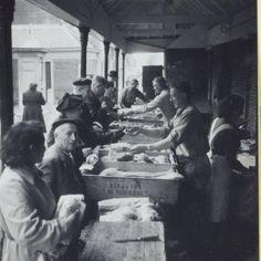 Alkmaar 1954 - Ad Windig - Fishmarket