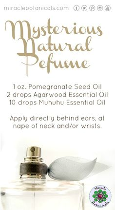 Create your own mysterious natural perfume using our recommended blend. #perfume #fragrance #makeyourown #sustainable #ecofriendly #chemicalfree #nontoxic #naturalwellness #essentialoils #aromatherapy #blessings #familybusiness #smallbusiness #namaste #spirit #essentialoilsrock #loveessentialoils #reiki #therapeutic #naturalhealth #holistichealth #naturalhealing #holistic #botanicals