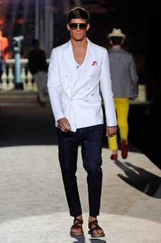 Dean and Dan Caten - Definitely my 2 favourite Canadian fashion designers.  Dsquared2 - SS2012