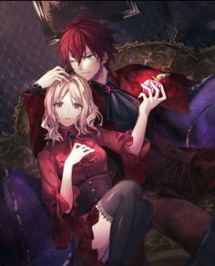 Diabolik Lovers (More Blood)- Ayato x Yui ディアラバ (ディアボリックラヴァーズ)You can find Diabolik lovers and more. Couple Anime Manga, Couple Amour Anime, Anime Cupples, Anime Love Couple, Anime Couples Manga, Chica Anime Manga, Cute Anime Couples, Kawaii Anime, Anime Guys