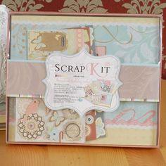 scrapbook kit 伊和诺 情人节日求爱新婚纪念儿童手工创意制作材料包DIY精美相册