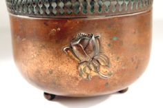 Rose Copper Planter by rumpledsuit on Etsy, $22.00