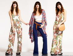 Moda primavera verano 2016 kimono, oxford, maxivestido y mono Paris by Flor Monis.