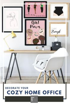 cozy office decor, home office decor, feminist art, feminist illustration, feminist quotes, digital art girl, digital art girl aesthetic,line art #instantdownload #printable #bedroomdecor #motivationalart #inspirationalart Cozy Home Office, Home Office Decor, Home Decor, Feminist Quotes, Feminist Art, Feminine Office Decor, Office Prints, Above Bed, Colorful Wall Art