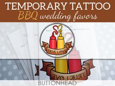 12 BBQ Wedding Favors