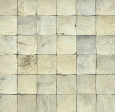 WEATHERED SQUARE COCONUT WALL TILES